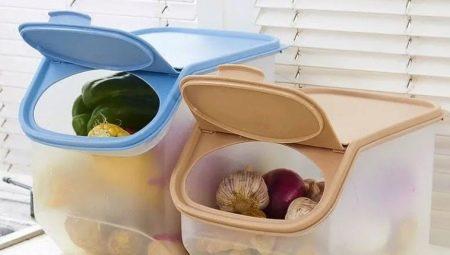 Containers voor groenten en fruit