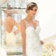 Hogyan kell varrni egy menyasszonyi ruhát nyitott háttal