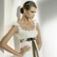 Esquemas para vestidos de noiva de crochê