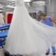 Egy esküvői ruha vegytisztítója