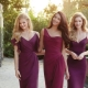 Marsala dresses - depth and saturation