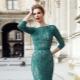Meri-vihreä mekko
