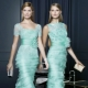 Mint dress: notes of freshness in the image
