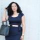 Kantoor- en zakelijke jurken voor vrouwen met obesitas