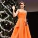 Orange kjole - for et lyst billede