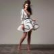 Vestido de neoprene - tecnologia moderna em tecidos