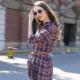 Vestido de camisa xadrez - look casual e elegante