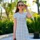Vestidos xadrez - clássicos elegantes