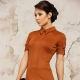 Terracotta dress - versatile image