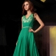 Pakaian petang hijau