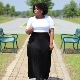 Saias longas para mulheres obesas