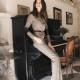 Tweed-housut