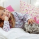Pijamas infantis com uma pilha