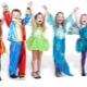 Karnavalų vaikų kostiumai