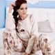 Naisten lämmin pyjamat