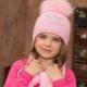 Chapéus infantis para meninas