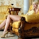 Sapatos de ouro