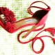 Punaiset sandaalit