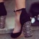 Sandaalit, joissa on suljettu kantapää