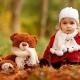 Set - lenço e chapéu para crianças
