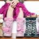 Botas de inverno para meninas