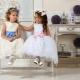 Baltos batai mergaitėms