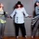 Pantsuits saiz besar untuk wanita gemuk