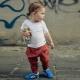 Tênis de velcro infantil