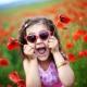 Óculos de sol das crianças