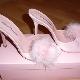 Sapatos caseiros com saltos