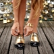 Sapatos de juventude