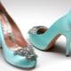 Sapatos de hortelã