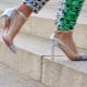 Sapatos transparentes
