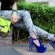 Sapatos com picos
