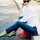 Sapatos verdes