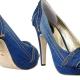 Sapatos denim