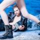 Karkeat naisten kengät
