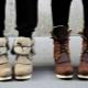 Botas adolescentes