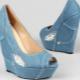 Sapatos de pano