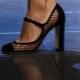 Sapatos com malha