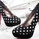 Sapatos de bolinhas