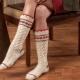 Sokken gemaakt van kamelenwol