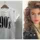 90-luvun tyyli vaatteissa