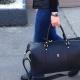 Bolsa de viagem faça você mesmo: padrão e alfaiataria