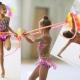 Op maat maken van badpakken voor ritmische gymnastiek