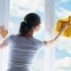 Hoe ramen te wassen zonder vlekken thuis?