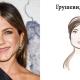 Peervormig gezicht: we selecteren kapsels, make-up en accessoires