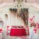 Ideas for decorating the wedding hall flowers