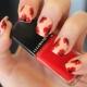 Papavers op nagels: technologie en stijlvolle ideeën