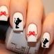 Manicure met Mickey Mouse: opties voor ontwerp en techniek van nagelontwerp